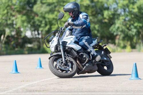 Motorrijbewijspoint Vlaardingen motor rijtest